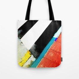 Urban Street Art Painting Tote Bag
