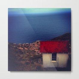 Pt Reyes Lighthouse - Fall 2014 Metal Print