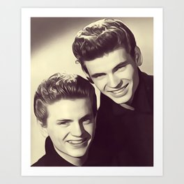 The Everly Brothers Art Print