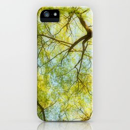 Willow Canopy iPhone Case