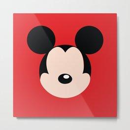 Mickey Mouse No. 12 Metal Print