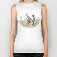 Hop on Spider Monkey Biker Tank