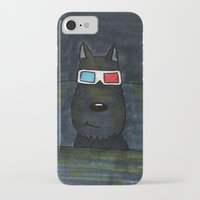 cinema iPhone & iPod Cases featuring Cinema by Lisidza's art