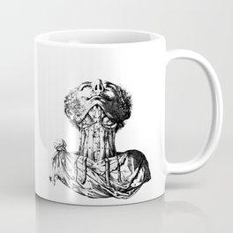 Vintage Illustration, Anatomy Coffee Mug