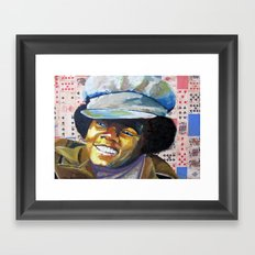 Young Mike Framed Art Print