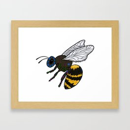 To Bee or Not To Bee Framed Art Print