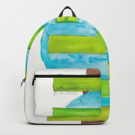 180818 Geometrical Watercolour 5 Backpack