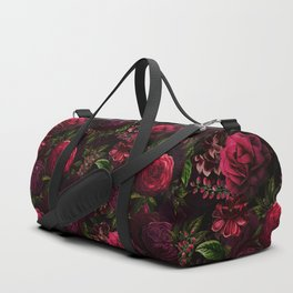 Mystical Night Roses Duffle Bag