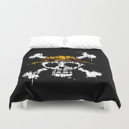 Skull - Pirates Duvet Cover