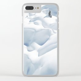 62. 50 shades of white, France Clear iPhone Case