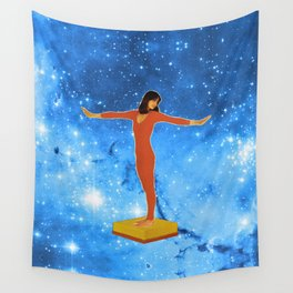 Dive in the stars  Wall Tapestry