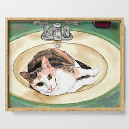 Catrina in the Sink Serving Tray