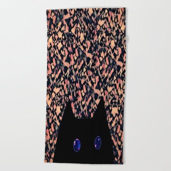 cat-238 Beach Towel