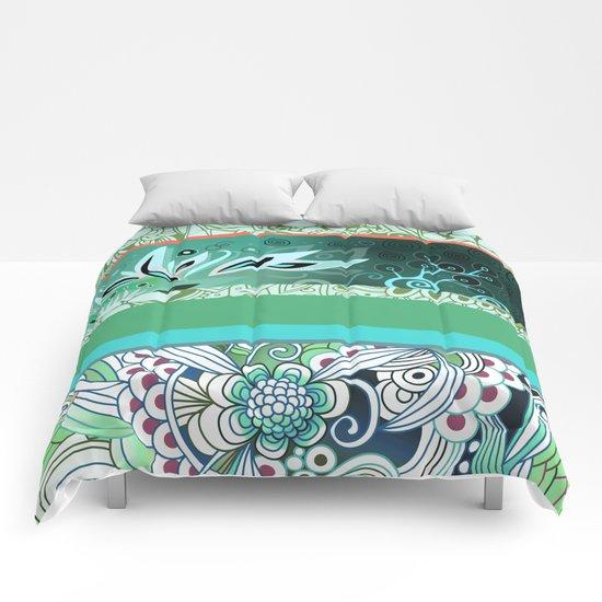 Designmix_green Comforters