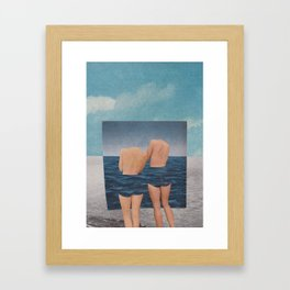 in one place Framed Art Print