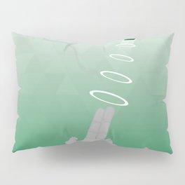 Geometric Surrealism: Hand gun Pillow Sham