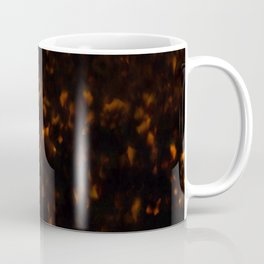 Dark Tortoise Shell Pattern Coffee Mug