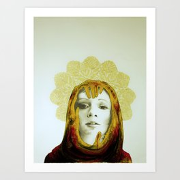 Hail Mary Art Print