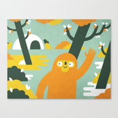 Mango Hunter Canvas Print