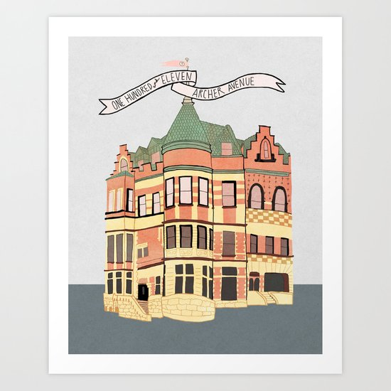 Archer Avenue Art Print
