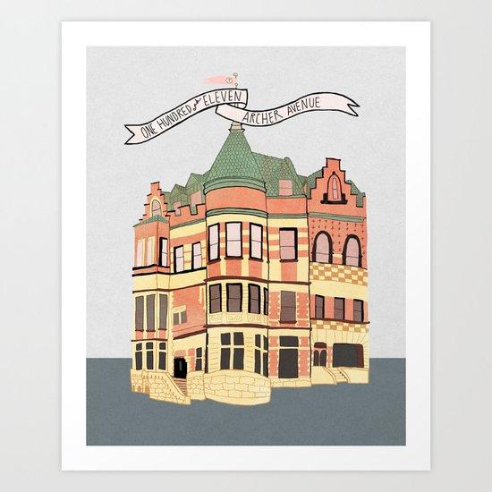Archer Avenue Art Print