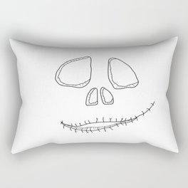 Spooky smile Rectangular Pillow