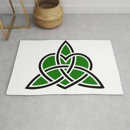 Celtic Valknut Trinity Knot With Interwoven Heart Rug