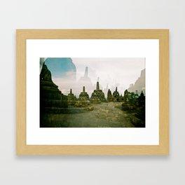 Stupa Framed Art Print