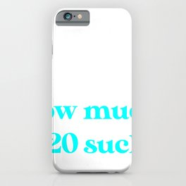 Introverted But Willing to Discuss Why 2020 Sucks iPhone Case