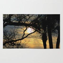 Sunrise Trees Rug