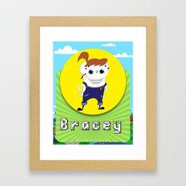 Bracey Framed Art Print