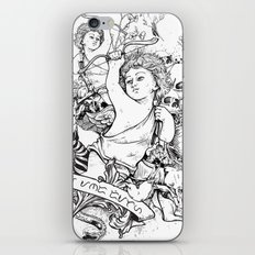 Life and Death iPhone & iPod Skin