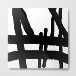 erase the wrong mistake Metal Print