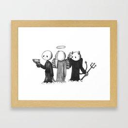 Crap Framed Art Print