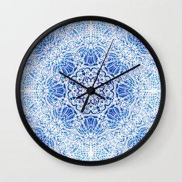 Mehndi Ethnic Style G413 Wall Clock