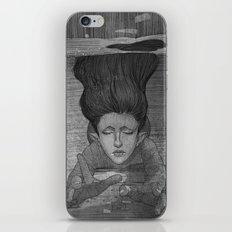Sea Lady illustration iPhone & iPod Skin