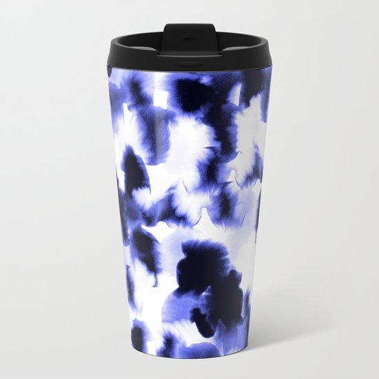 Kindred Spirits Blue Metal Travel Mug