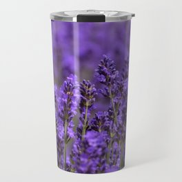 the smell of lavender -c- Travel Mug