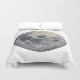 Golden Moon Duvet Cover
