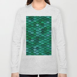 Green Penny Scales Long Sleeve T-shirt
