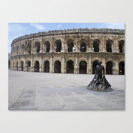 Arena of Nîmes Canvas Print