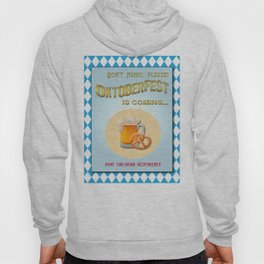 Poster of 'Waiting for the Oktoberfest' Hoody