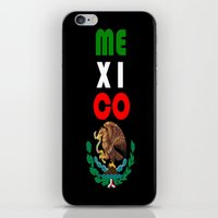 mexico iPhone & iPod Skins featuring Mexico  by RDsix3