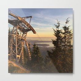 Grouse mountain Metal Print