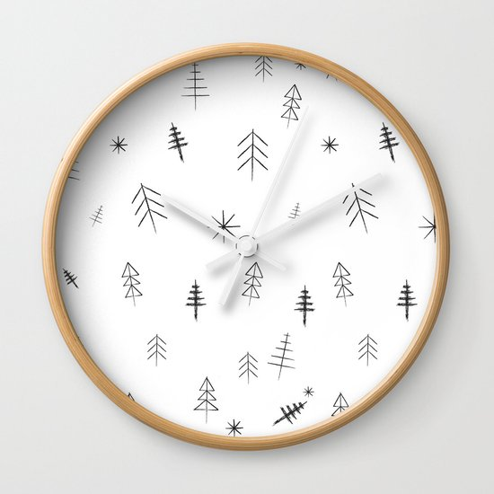 O Christmas tree[s] Wall Clock