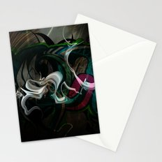 White Dragon Stationery Cards