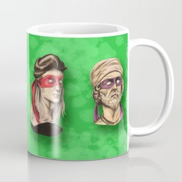 Renaissance Mutant Ninja Artists Coffee Mug