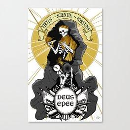 Deus Epee Canvas Print