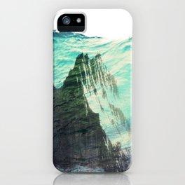 Underwater Mountain iPhone Case