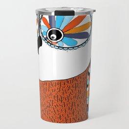 Beautiful Owl Travel Mug